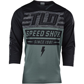 Troy Lee Designs Ruckus 3/4 Jersey Men bolt/fatigue green/black